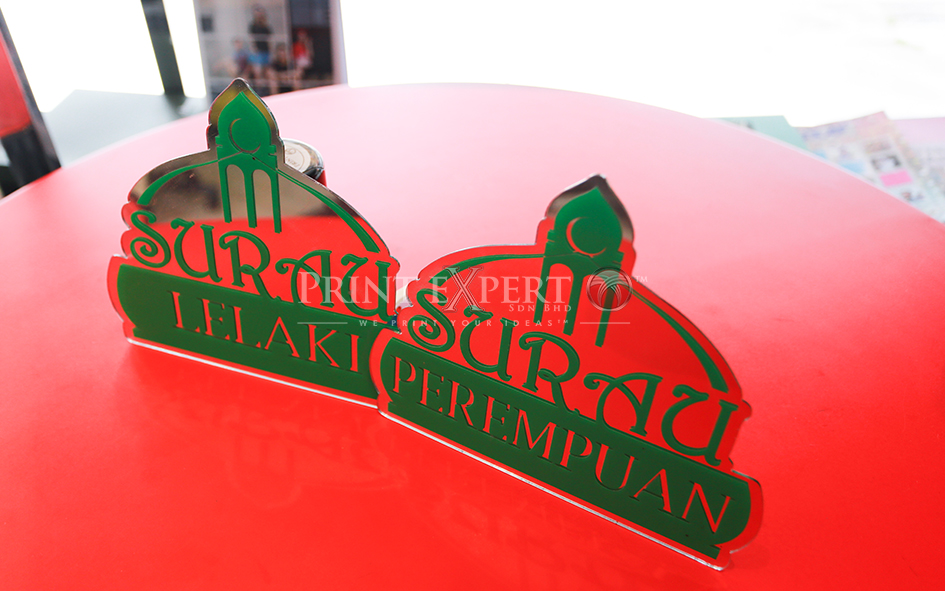 Acrylic laser cutting: Photo 12